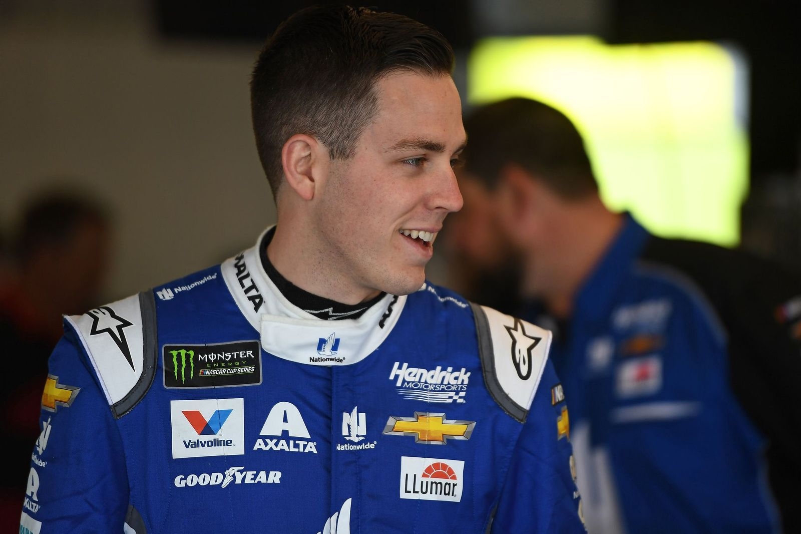 Alex Bowman at the practice for the Monster Energy NASCAR Cup Series TicketGuardian 500  on March 8, 2019 | Getty Images