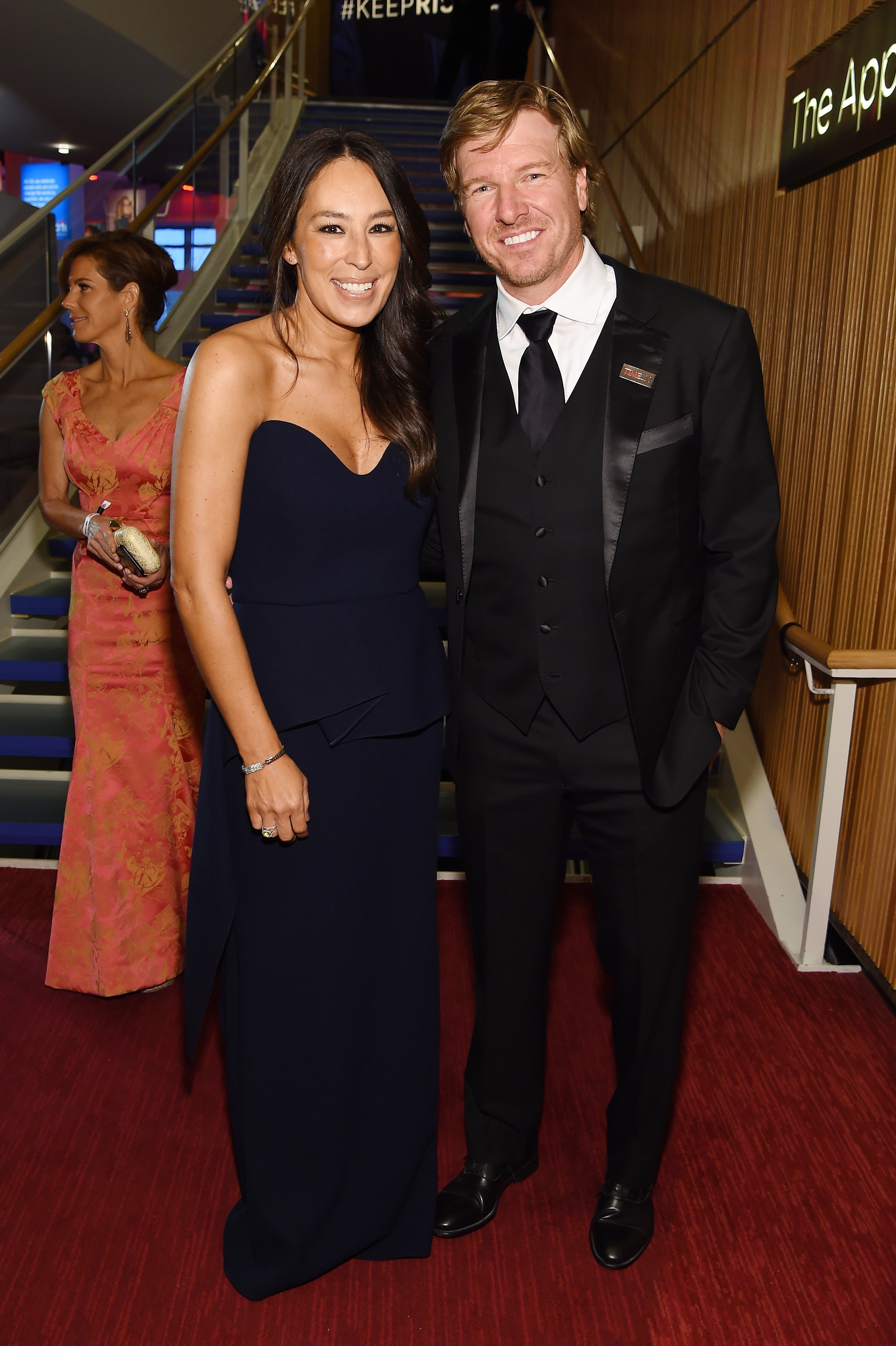 Joanna Gaines and Chip Gaines attend the TIME 100 Gala 2019 Cocktails on April 23, 2019, in New York City. | Photo: Getty Images.