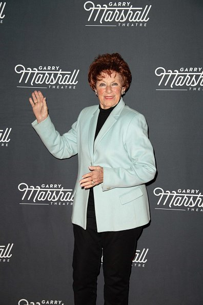 """Marion Ross attends """"The Mountaintop"""" Opening Night Performance at Garry Marshall Theatre on February 8, 2019, in Burbank, California. 