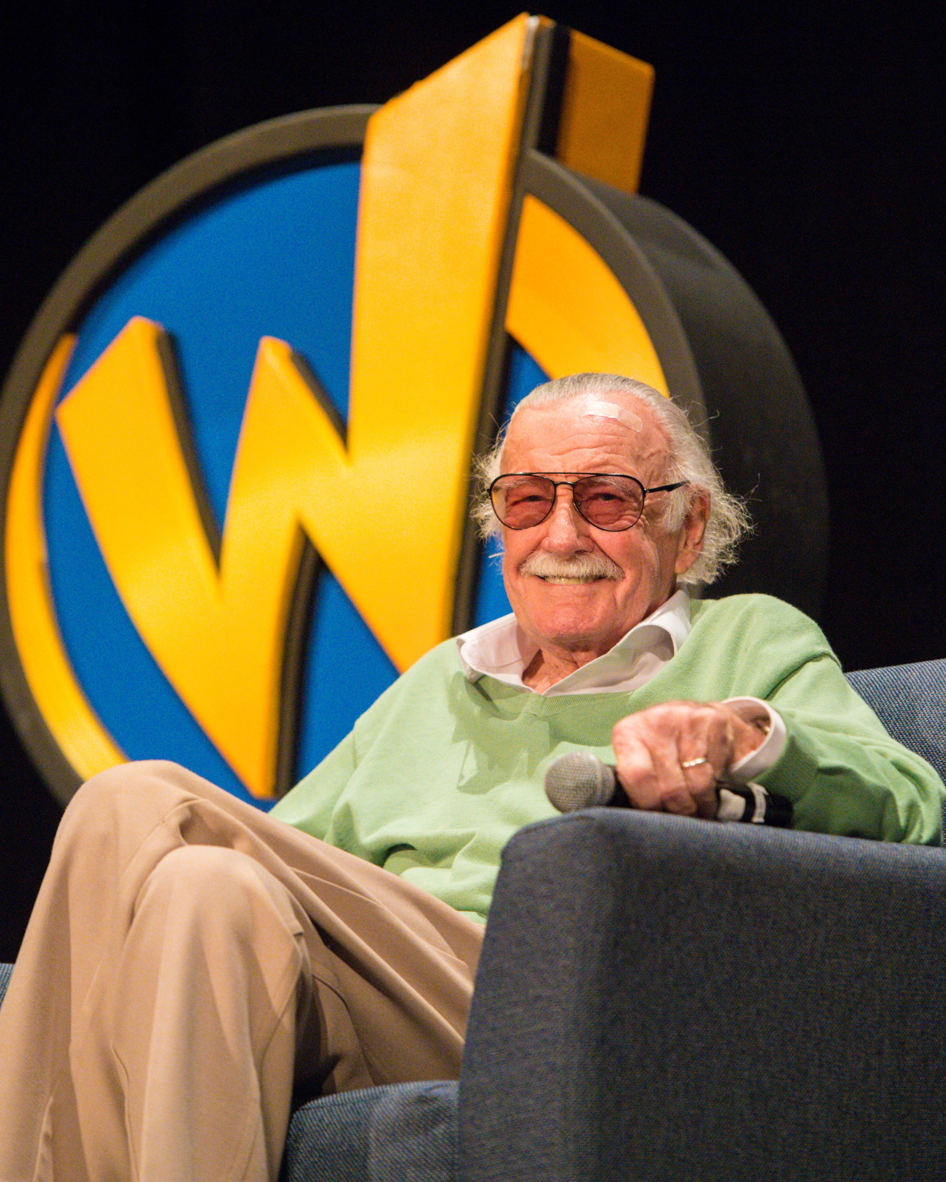 Stan Lee at the Wizard World Comic Con at Ernest N. Morial Convention Center on January 6, 2018 in New Orleans, Louisiana. | Source: Getty Images