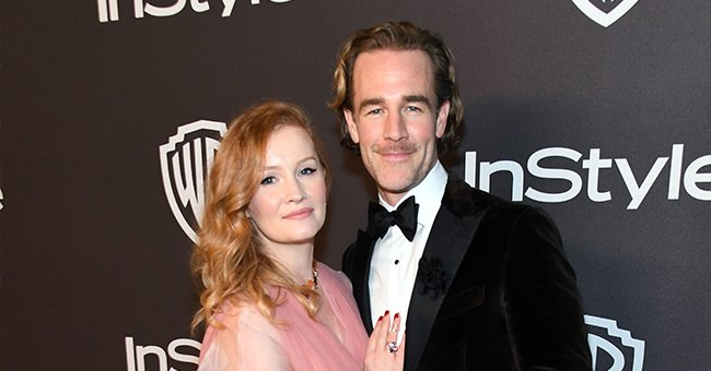 James Van Der Beek Can't Stop Laughing as 2-Year-Old Daughter Gwendolyn Learns a Cuss Word