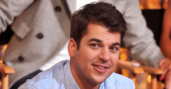 Rob Kardashian Shares a Cute Snap of Daughter Dream with Stunning Curls as She Sips a Drink
