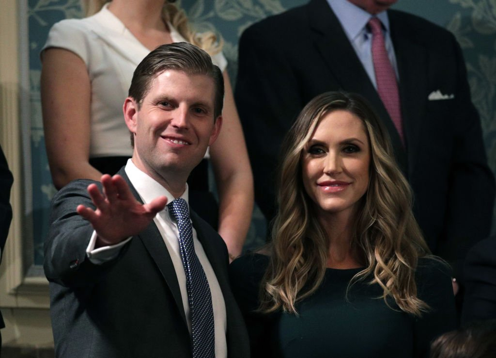Eric Trump and Lara Trump attend the State of the Union address in the chamber of the U.S. House of Representatives | Photo: Getty Images
