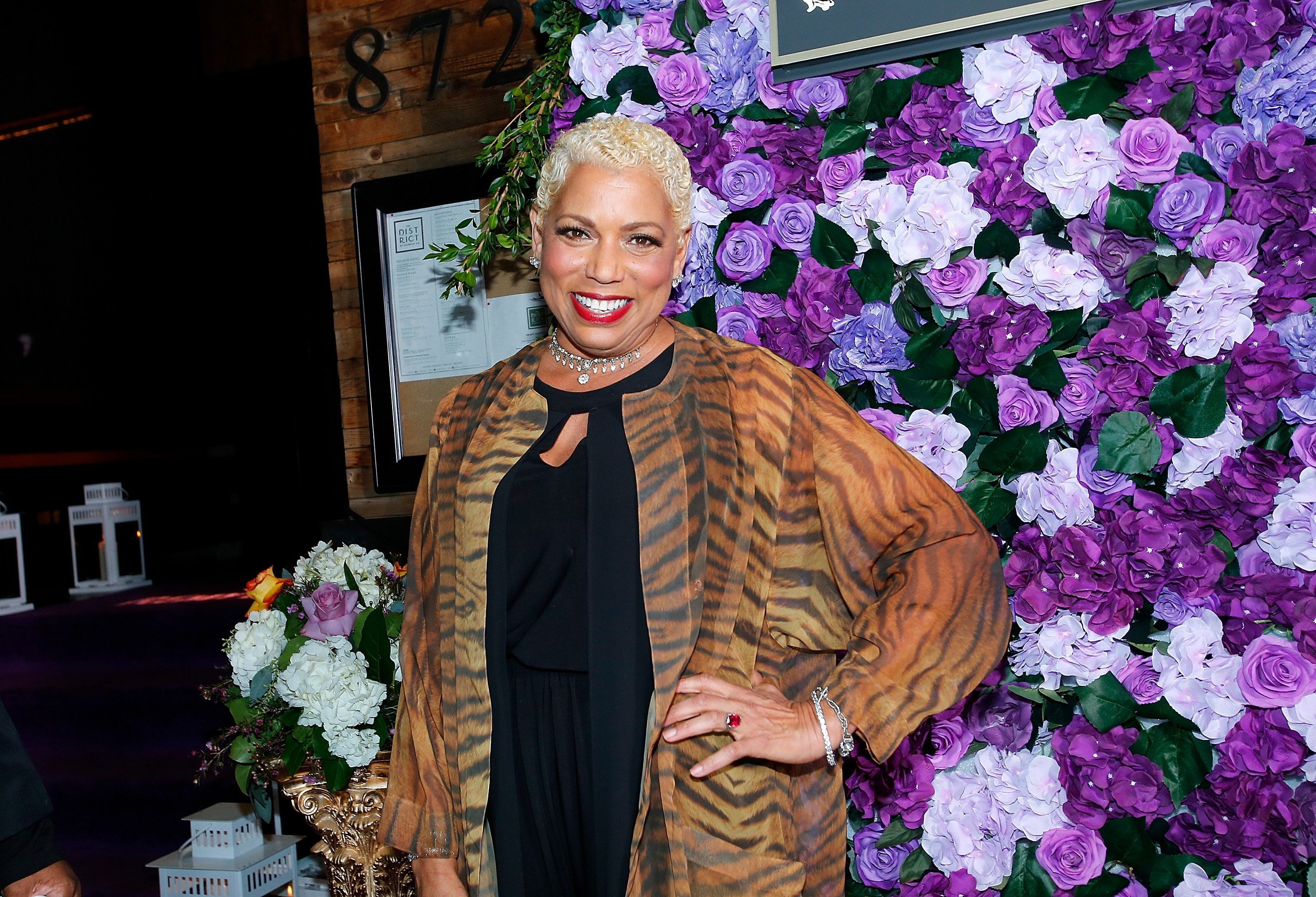 Rolonda Watts at The Griot Gala Oscars After Party 2019 in Los Angeles   Source: Getty Images