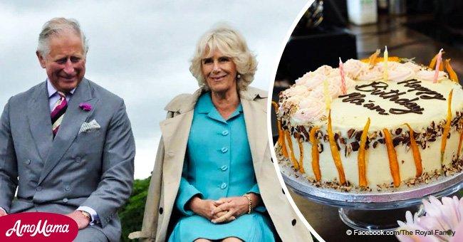 Camilla Parker Bowles enjoys 71st birthday celebration with a beautiful cake