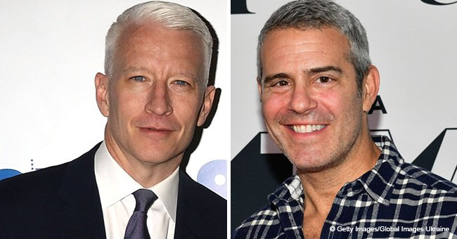 Andy Cohen Captured a Tender Moment as Anderson Cooper Meets Andy's Little Son