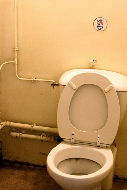 Des toilettes. l Source: Flickr