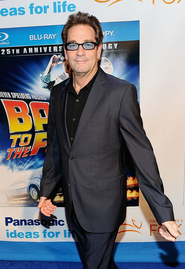 """Musician Huey Lewis attends the """"Back To The Future"""" 25th anniversary Trilogy Blu-Ray release celebration at Gustavino's on October 25, 2010 