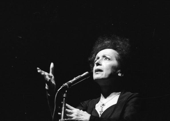Edith Piaf (1915-1963), chanteuse française. Paris, Olympia, en janvier 1961.  | Photo : Getty Image