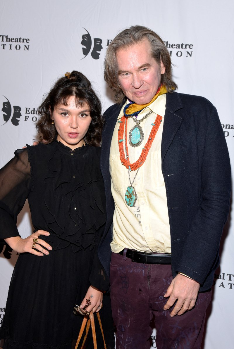Mercedes Kilmer and Val Kilmer attending the 2019 annual Thespians Go Hollywood Gala in Los Angeles, California in November 2019. Getty Images.