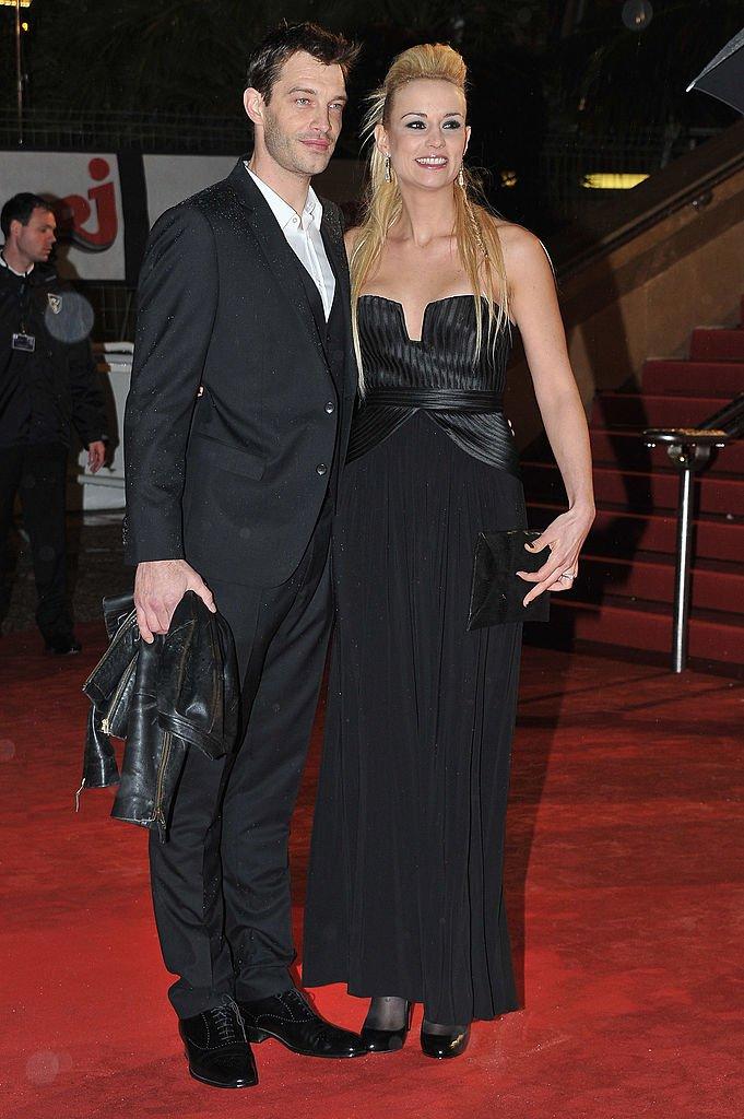 Bertrand Lacherie et Élodie Gossuin en 2012. l Source : Getty Images