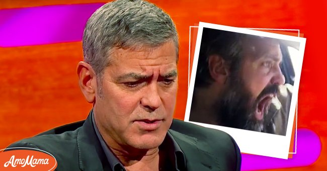 """American actor George Clooney on The Graham Norton Show. 