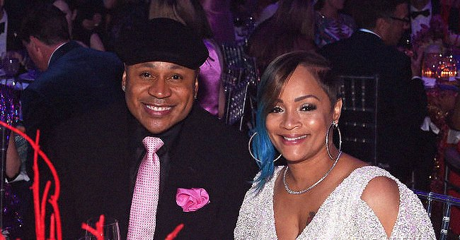 LL Cool J's Wife Simone Stuns Showing Her Long Legs in a Green Leather Jacket & Jeans (Photo)