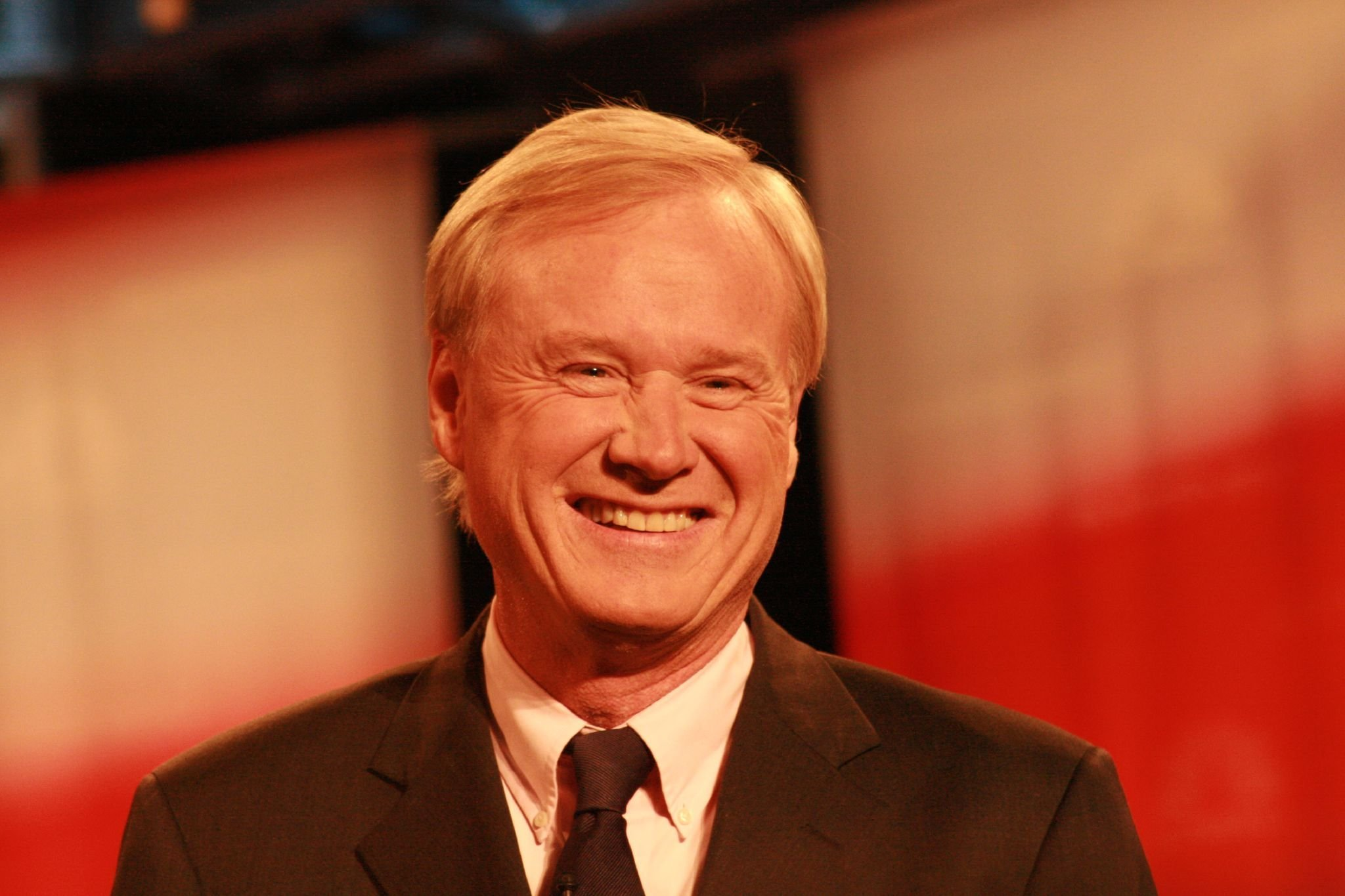 Chris Matthews at the Republican presidential debate in Dearborn, Michigan, on October 9, 2007 | Photo: chetlyzarko/Flickr