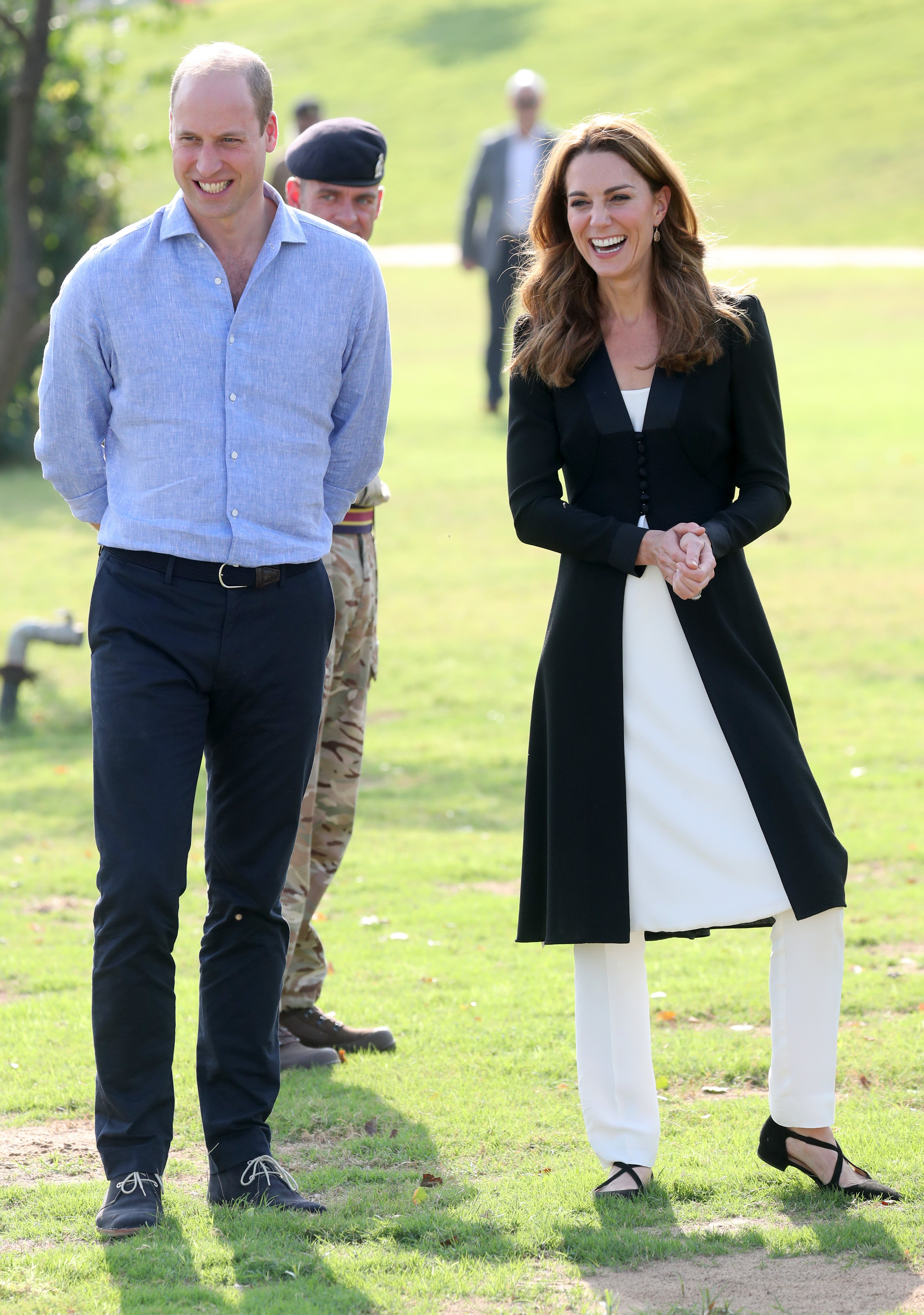 Prince William and Catherine during day five of their royal tour of Pakistan on October 18, 2019, in Islamabad, Pakistan. | Source: Getty Images.