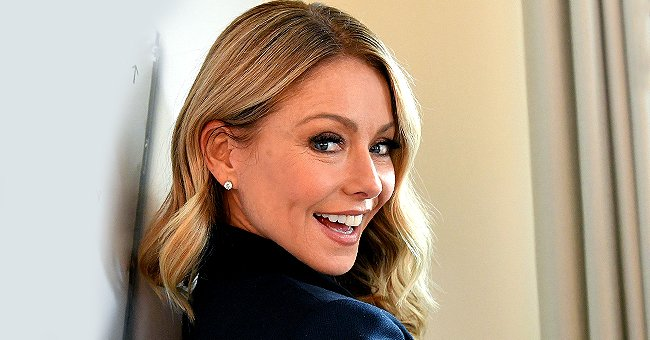 Kelly Ripa's Glittering Holiday Outfit Is All Shades of Naughty and Nice — See the Photo