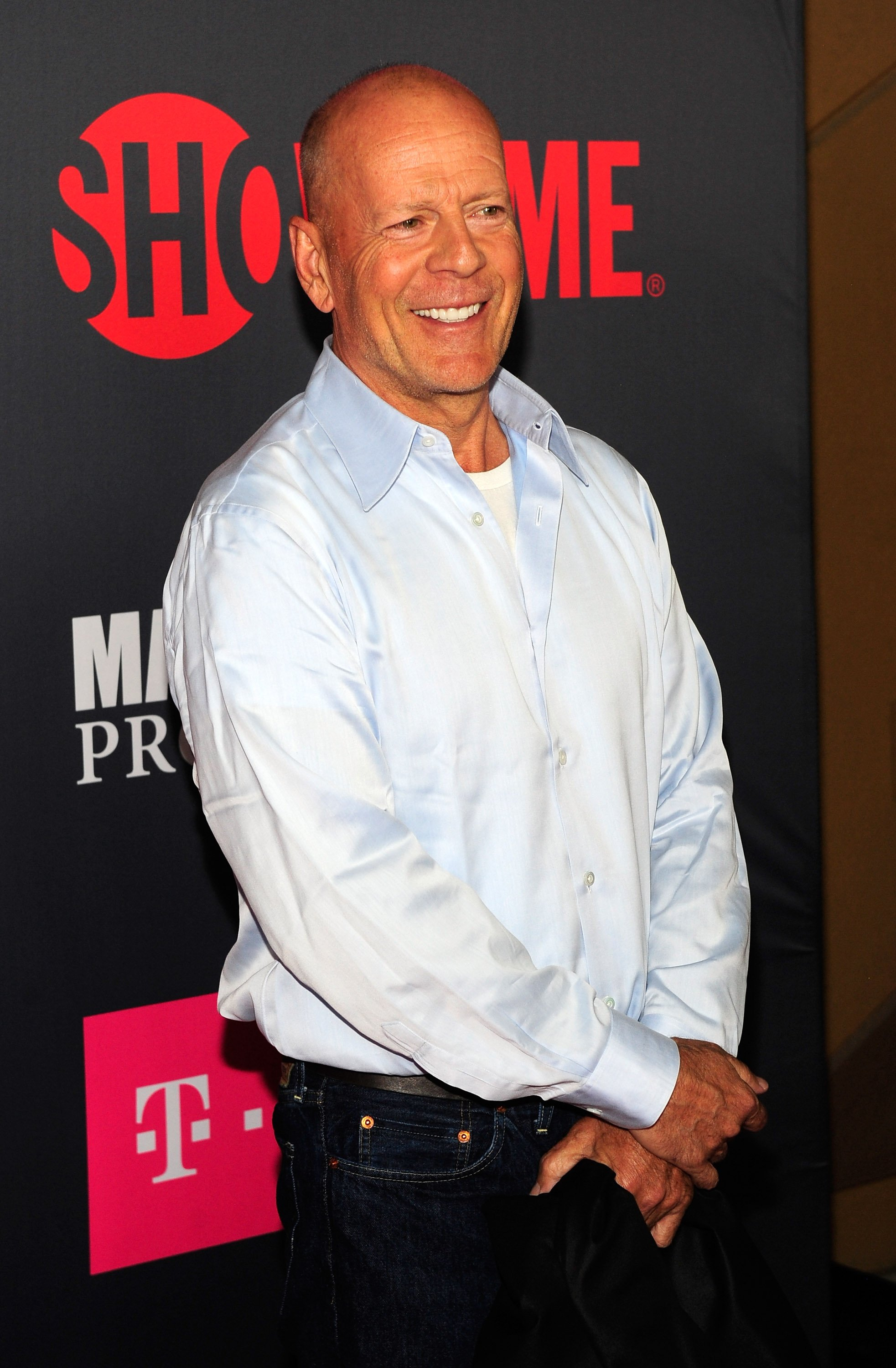 Bruce Willis attends the VIP party before the boxing match between boxer Floyd Mayweather Jr. and Conor McGregor at T-Mobile Arena on August 26, 2017, in Las Vegas, Nevada. Source: Getty Images.