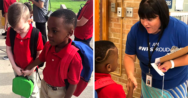 Kansas Boy Goes Viral after Holding Hand of Crying Classmate with Autism on First Day of School