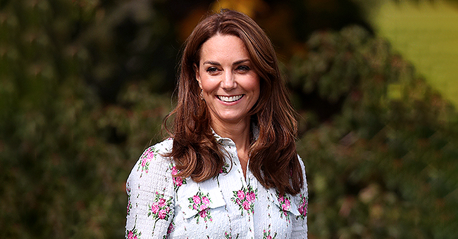 Duchess Kate Middleton Wears Emilia Wickstead Dress as She Unveils 3rd Back to Nature Garden