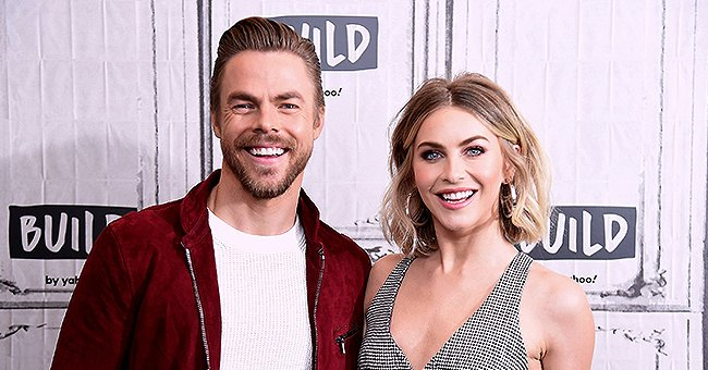 Derek Hough from 'World of Dance' Poses with Sister Julianne Who's Showing off Her Body in a Houndstooth Jumpsuit