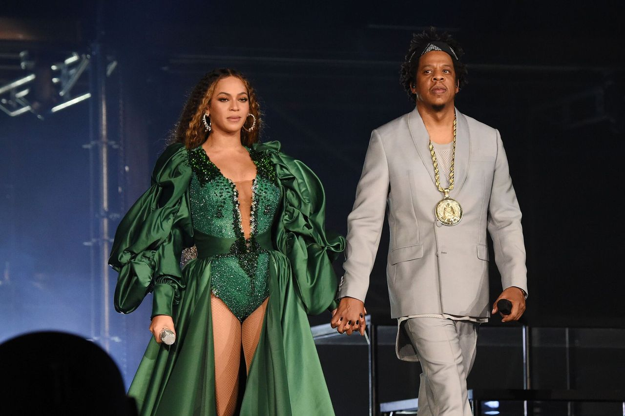 Beyonce and Jay-Z perform during the Global Citizen Festival: Mandela 100 at FNB Stadium in Johannesburg, South Africa | Photo: Getty Images