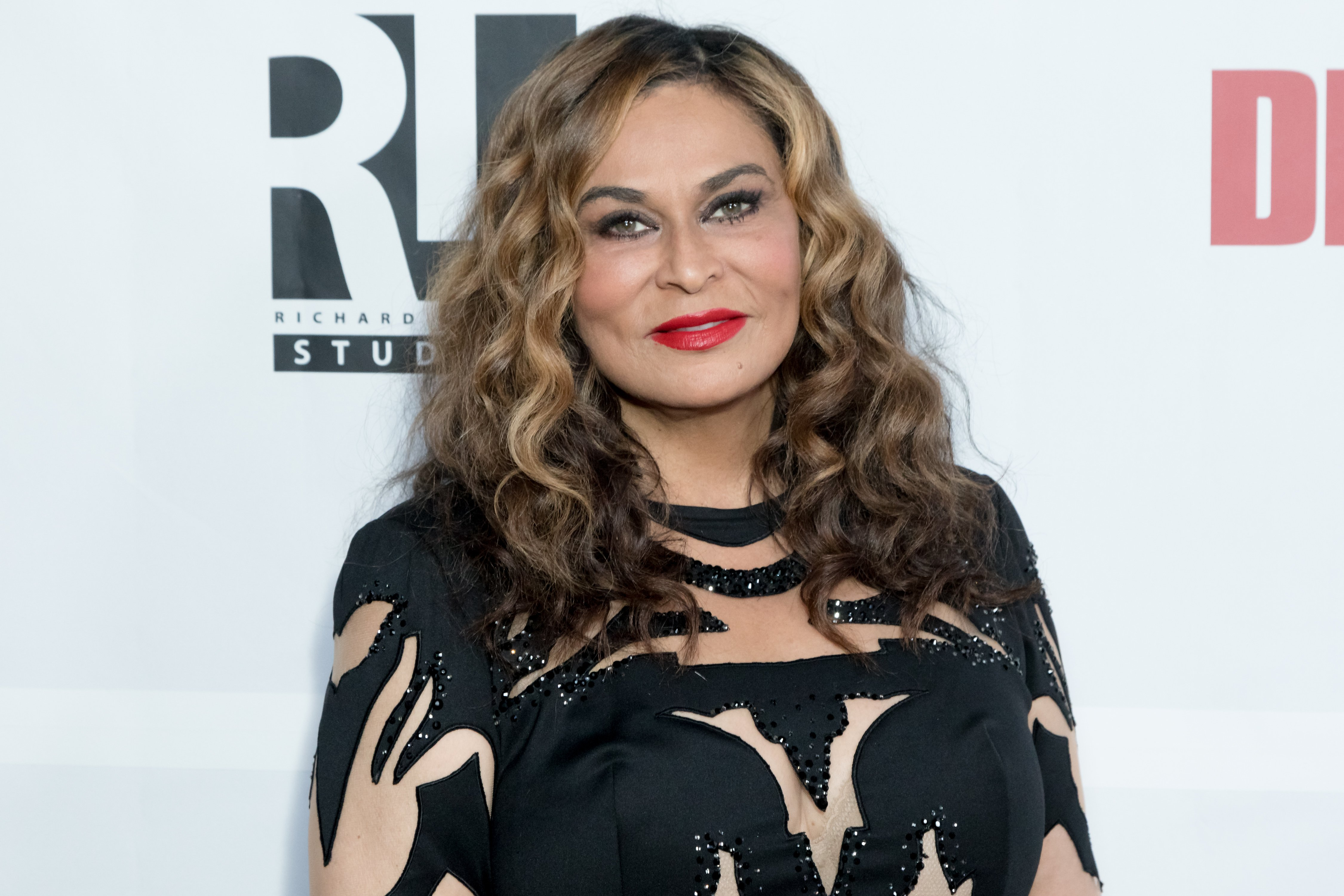 Tina Knowles attending the Launch at the WACO Theater Grand Opening at WACO Theater Center on November 3, 2017 in Los Angeles, California. | Source: Getty