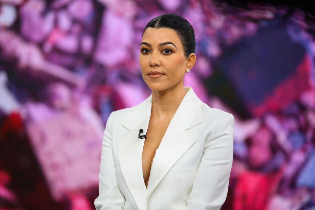 Kourtney Kardashian on Thursday, February 7, 2019