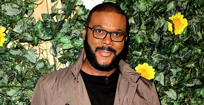 Tyler Perry Opens up about Life as a Dad and Says His Son Aman Looks Just like Him
