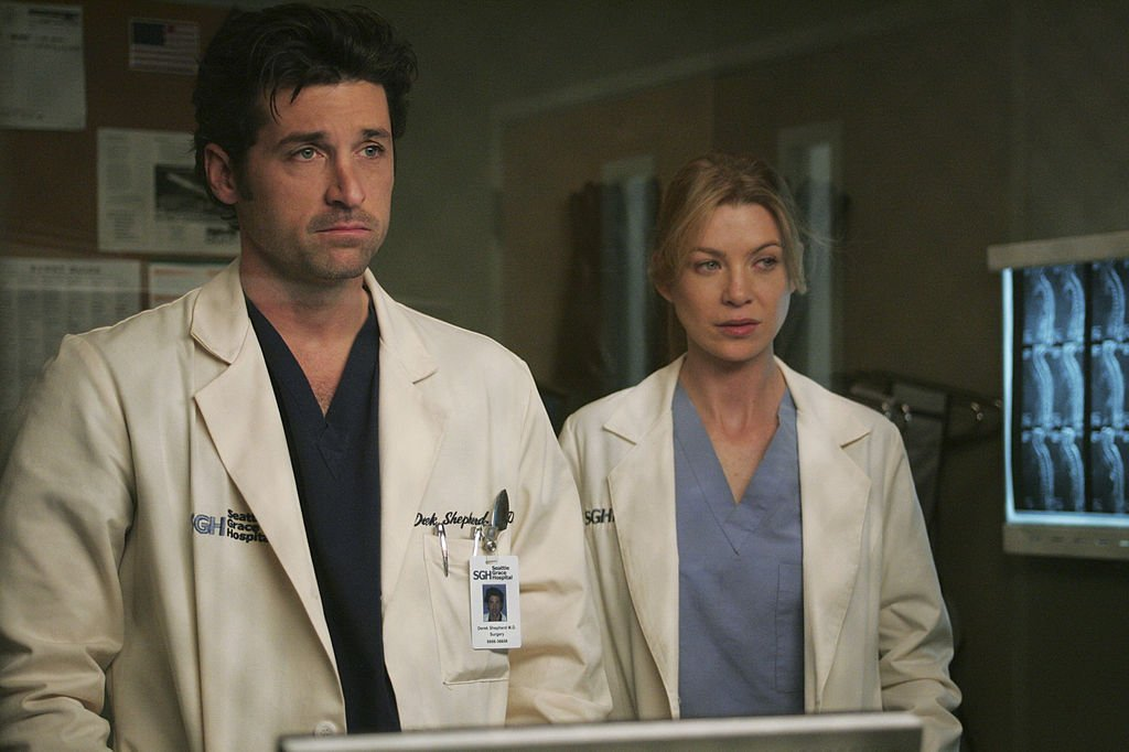 "Dereck and Meredith pictured in the ""Grey's Anatomy"" episode called, ""NO MAN'S LAND."" 