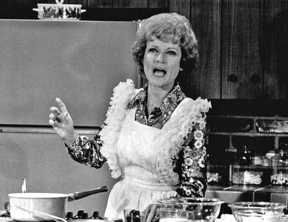 "Betty White as Sue Ann Nivens, on ""The Mary Tyler Moore Show"" 