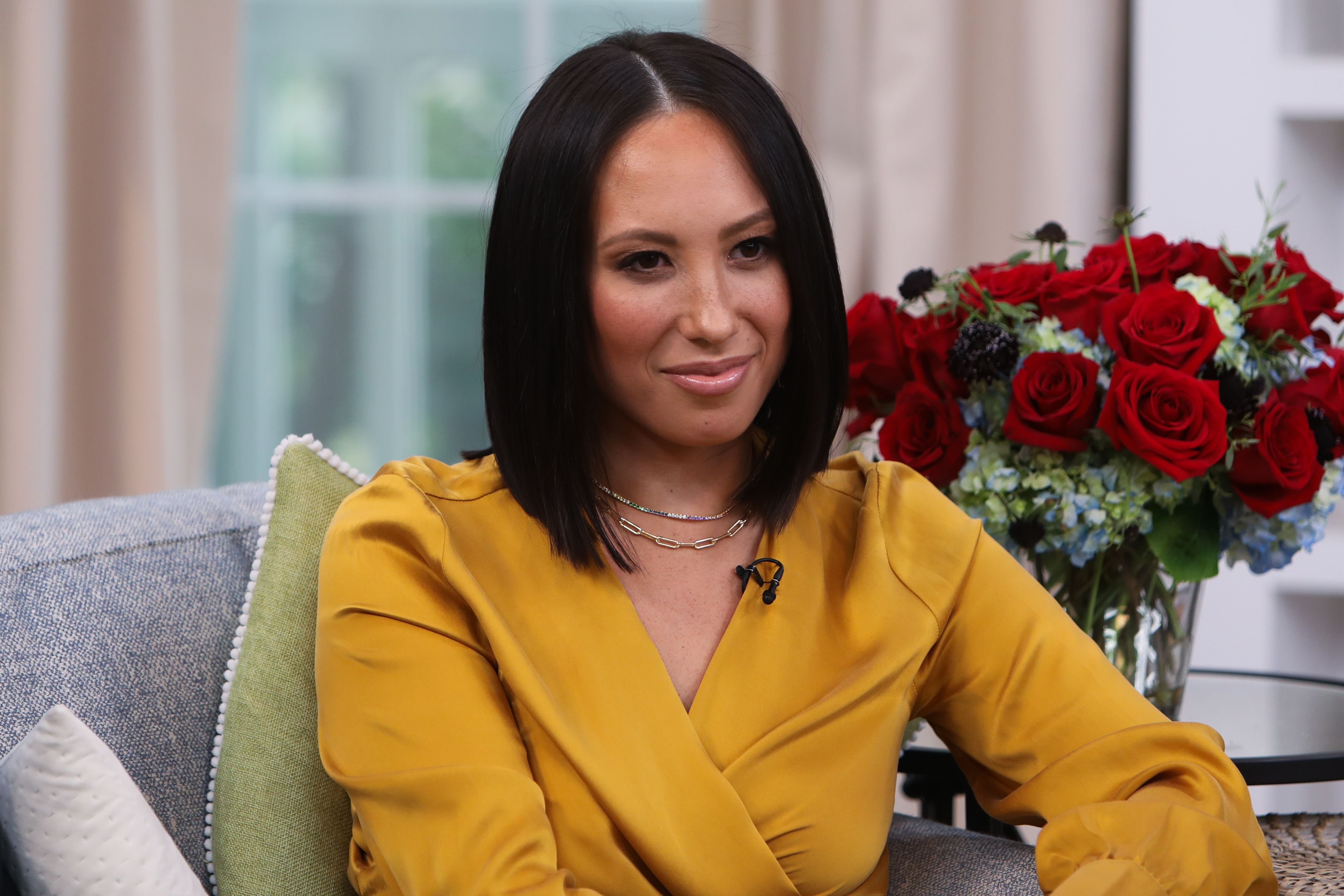 """Cheryl Burke at Hallmark Channel's """"Home & Family"""" on September 26, 2019 