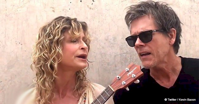 Kevin Bacon and Kyra Sedgwick performed a sweet song for their 30th anniversary