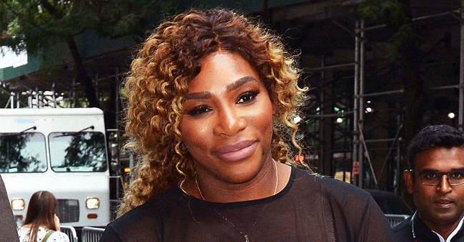 Check Out Serena Williams' Daughter Olympia Enjoy Meal Time with Her Doll in a Hilarious Photo