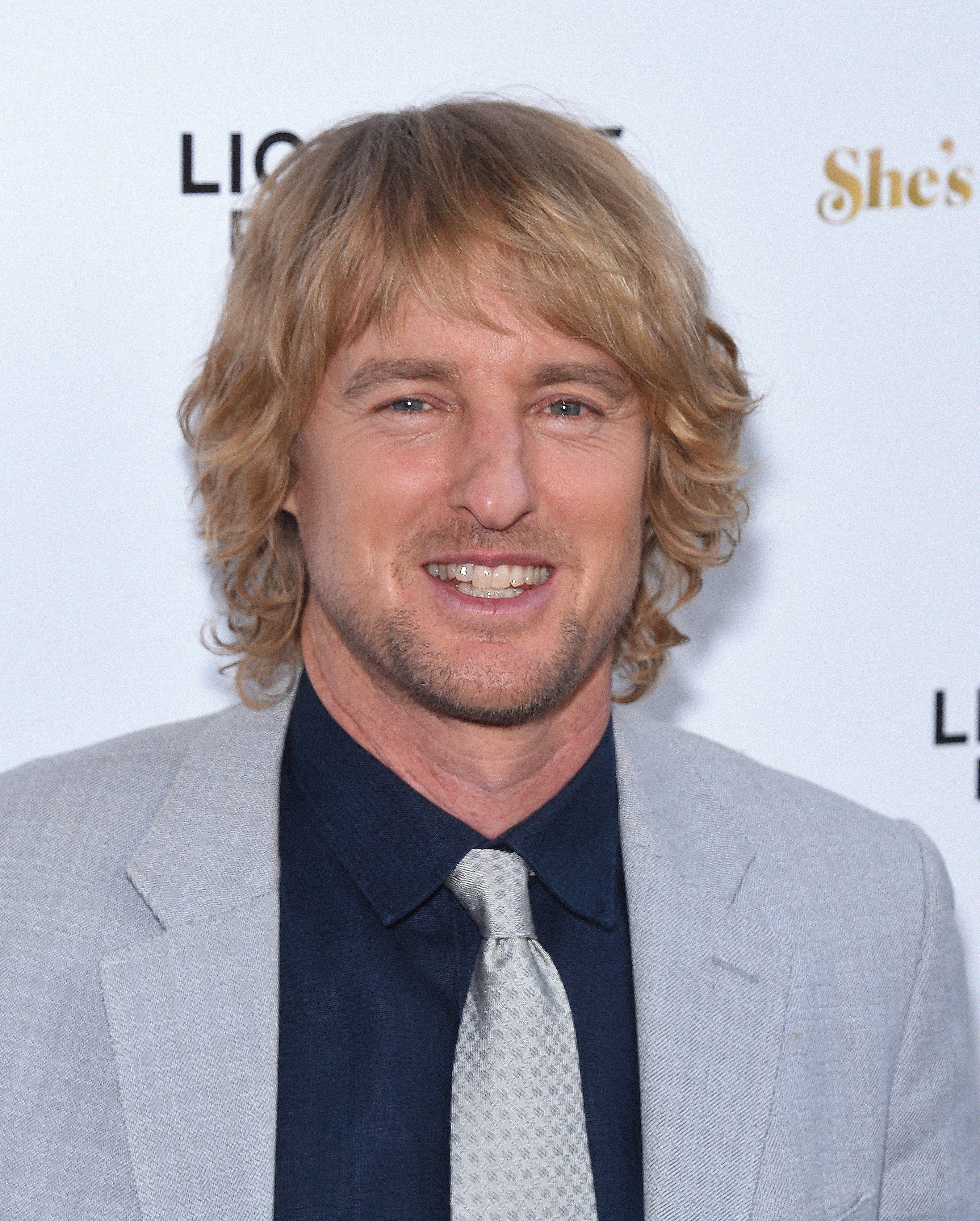 """Owen Wilson pictured at the Premiere for """"She's Funny That Way"""" at Harmony Gold on August 19, 2015 