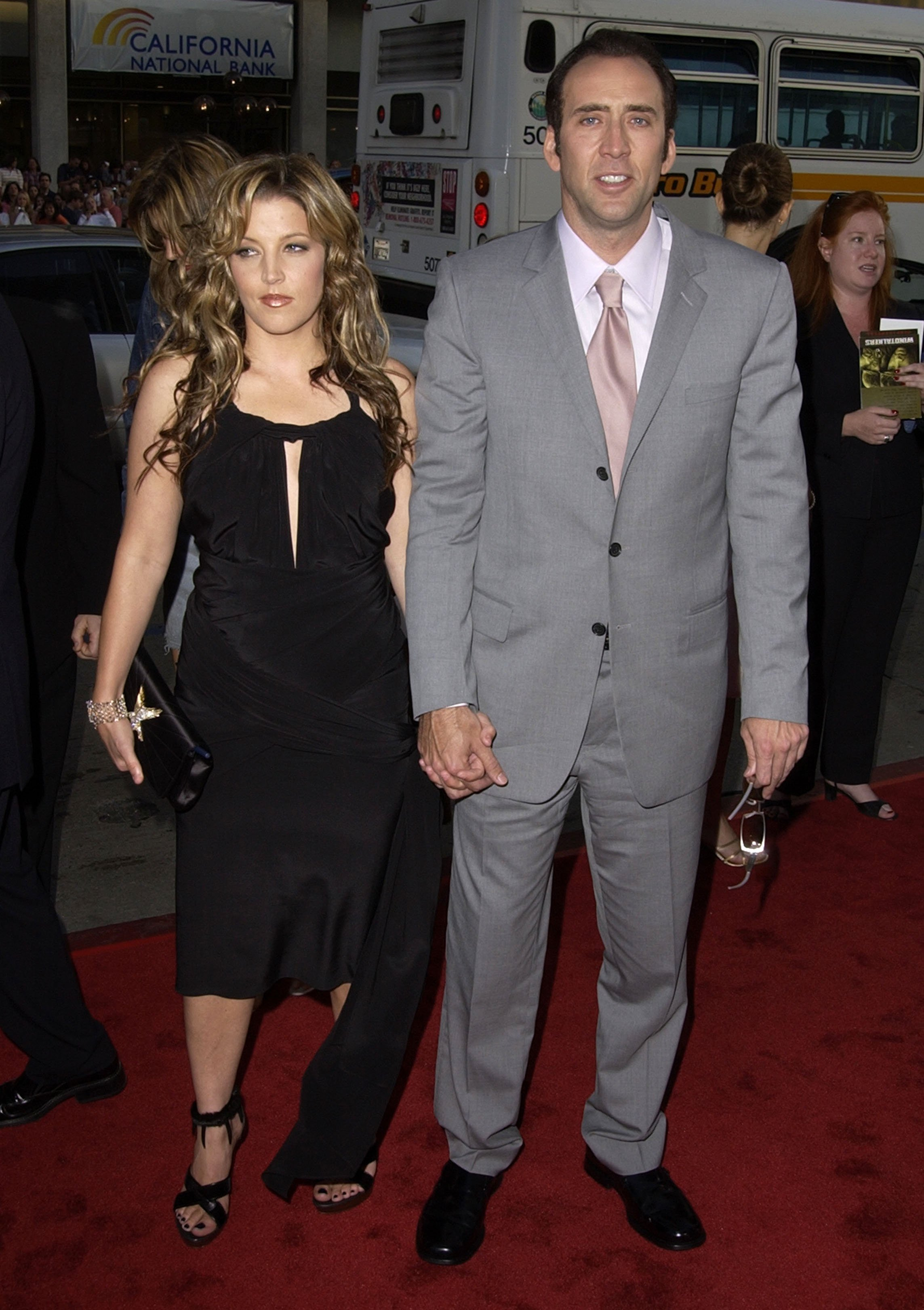 Lisa Marie Presley and Nicolas Cage. I Image: Getty Images.