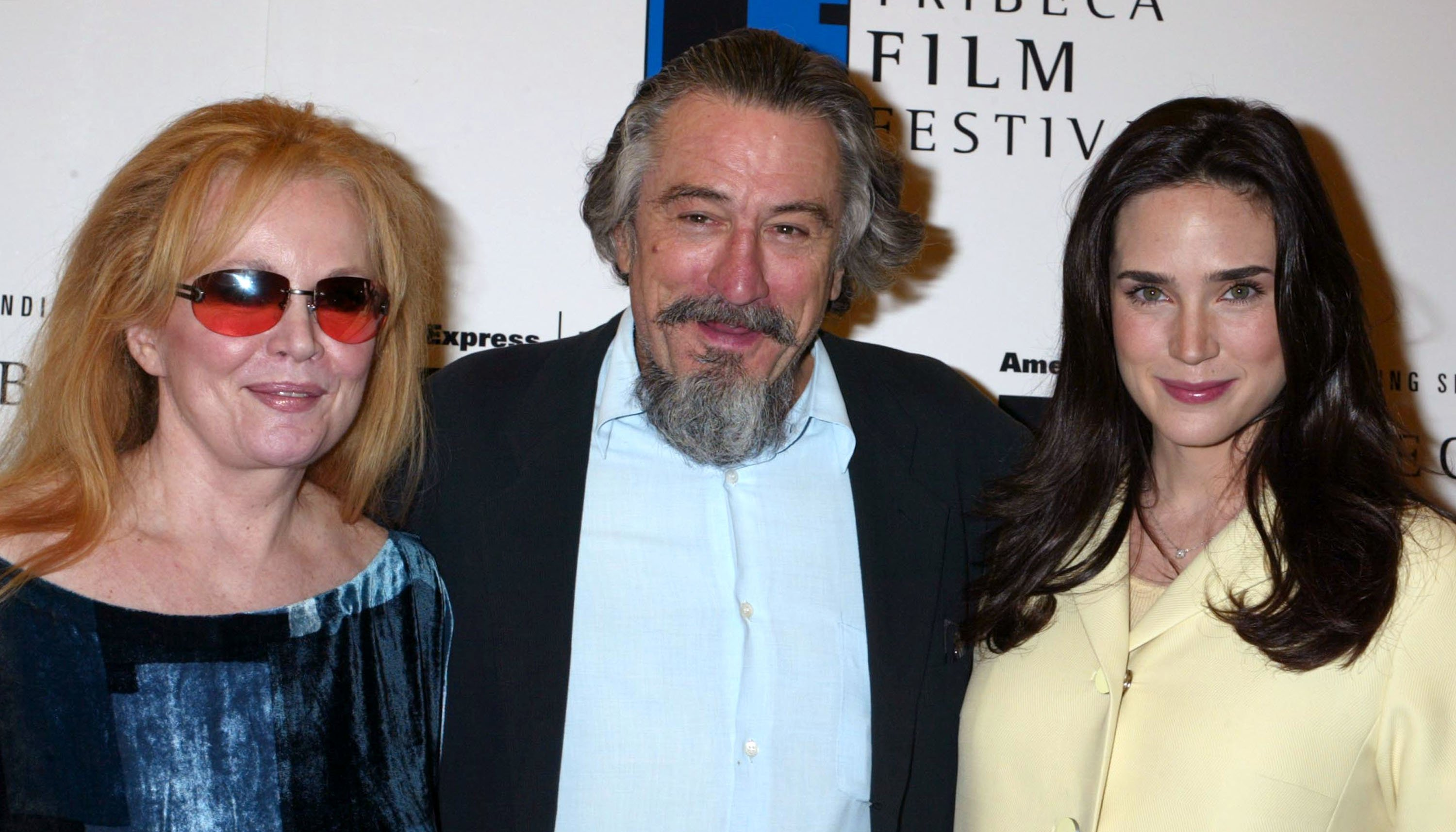 Tuesday Weld, Robert De Niro and Jennifer Connelly at 2003 Tribeca Film Festival. | Source: Getty Images