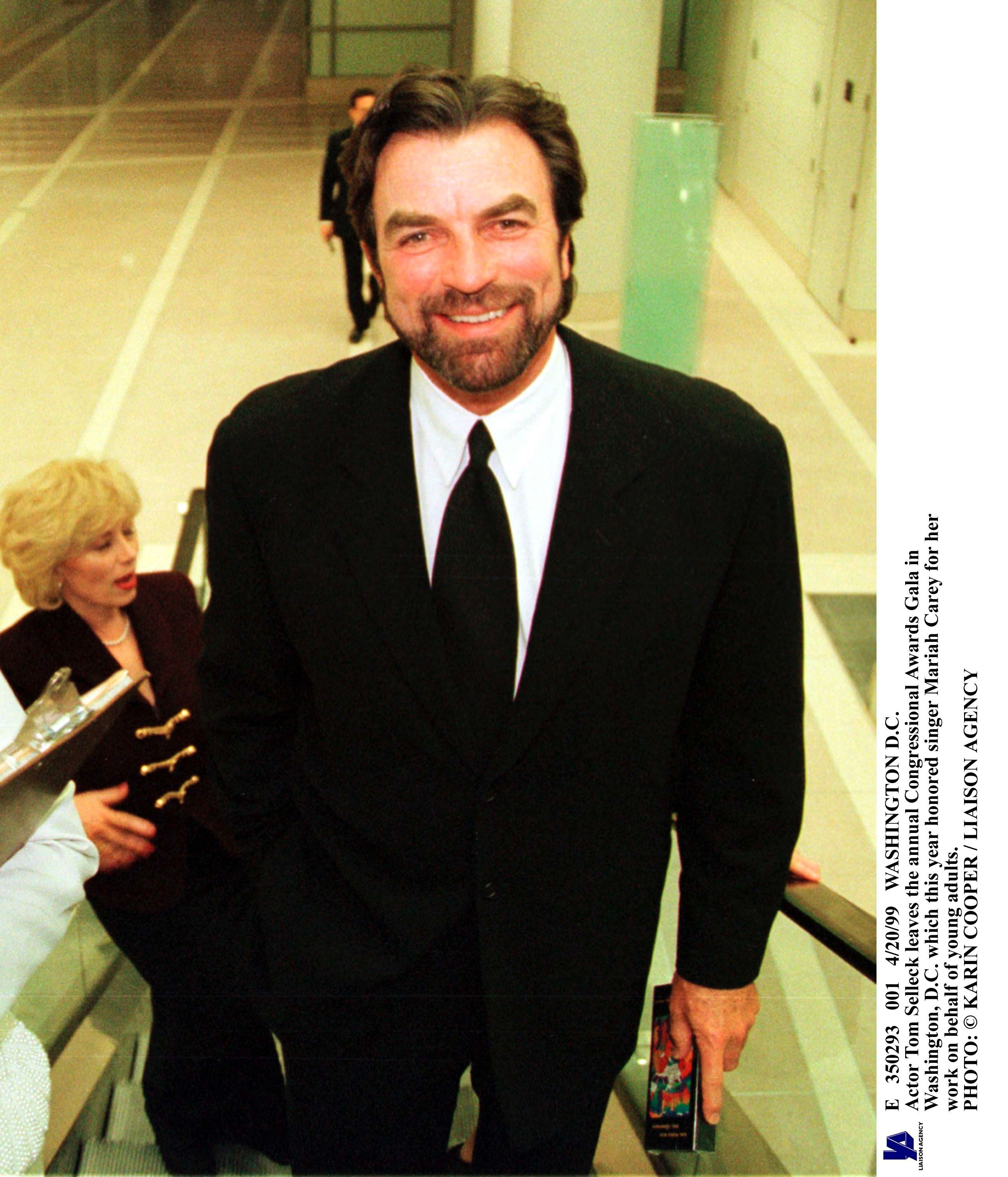 Tom Selleck during The Annual Congressional Awards Gala In Washington, D.C. | Source: Getty Images