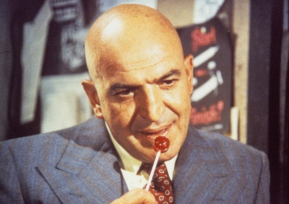 Telly Savalas Stars in the TV series 'Kojak', 01.11.1986 | Photo: Getty Images
