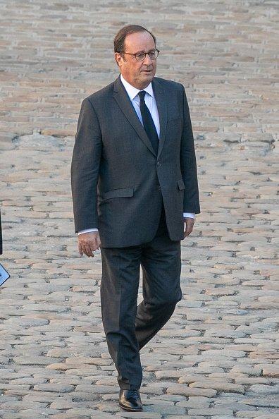 La photo de François Hollande le 5 octobre 2018 à Paris, en France   Source: Getty Images / Global Ukraine