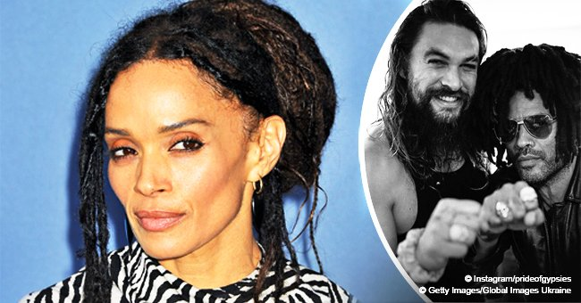 Lisa Bonet's husband Jason Momoa & ex Lenny Kravitz heat up talk with their matching rings in pic