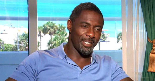 Idris Elba's Teen Daughter Isan Stuns Sporting a Denim Jacket & Waist-Length Hair (Photos)
