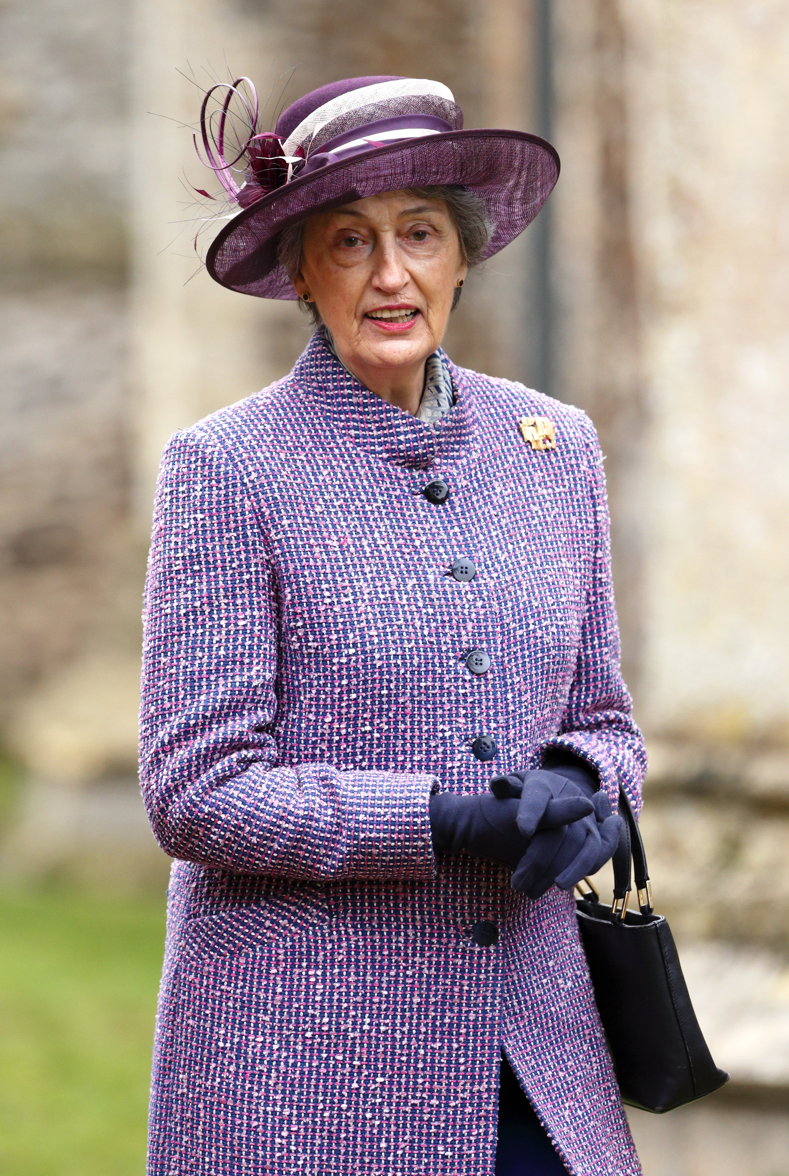 Lady Susan Hussey accompanies Queen Elizabeth II to Sunday service on January 19, 2014 in Norwich, England | Photo: Getty Images