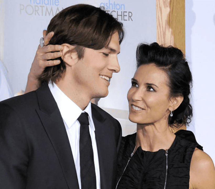 Ashton Kutcher et Demi Moore sur le tapis rouge | Source: Getty Images