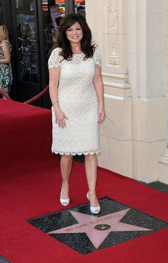 Valerie Bertinelli Honored On The Hollywood Walk Of Fame  | Getty Images / Global Images Ukraine