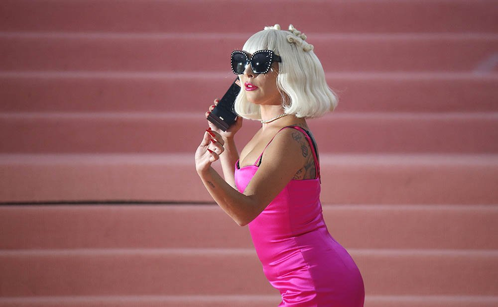 Lady Gaga is seen arriving to the 2019 Met Gala Celebrating Camp: Notes on Fashion at The Metropolitan Museum of Arat on May 6, 2019 in New York City. I Image: Getty Images.