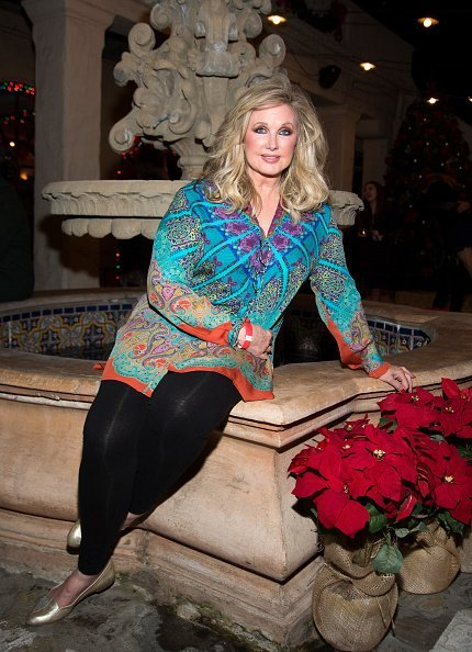 Morgan Fairchild at Pasadena Playhouse on December 8, 2016 | Photo: Getty Images