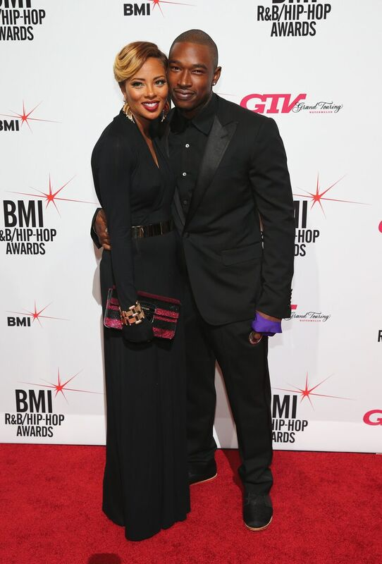 Eva Marcille and Kevin McCall attending an event together | Source: Getty Images/GlobalImagesUkraine
