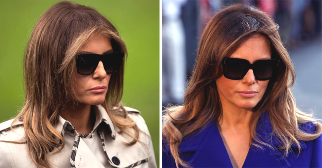 Here's the Reason Melania Hides Her Face behind Sunglasses so Often, According to an Expert