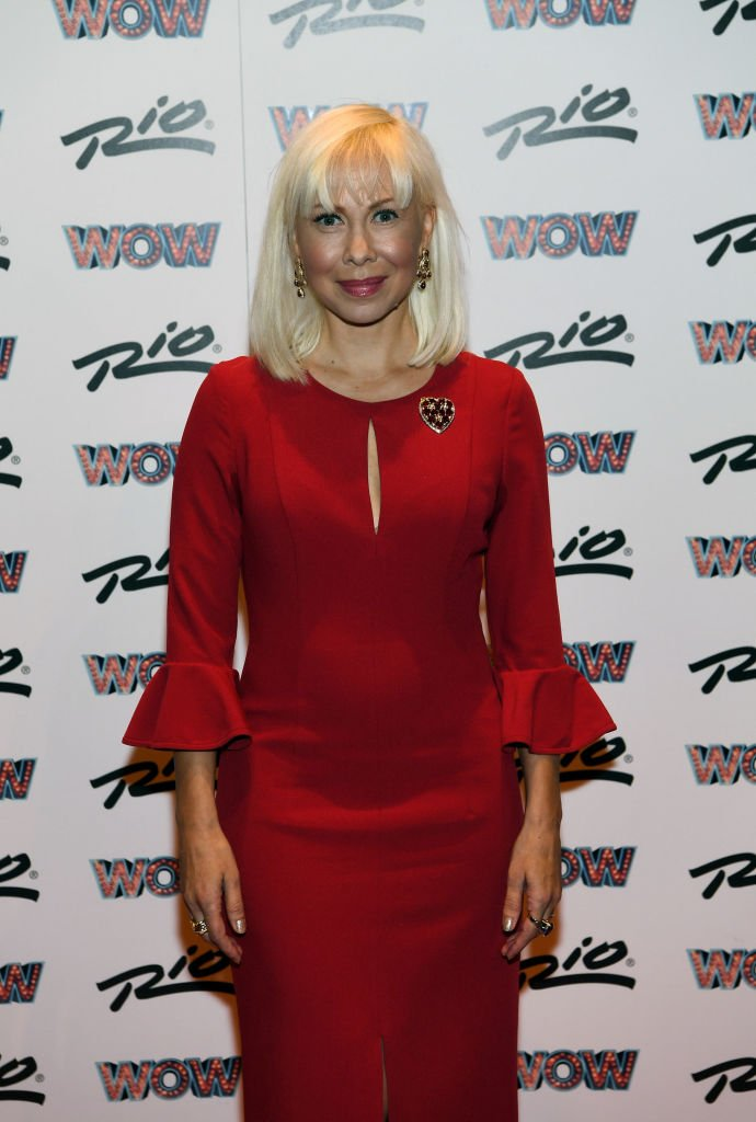 """Oksana Baiul at """"WOW - WORLD OF WONDER"""" premiere at Rio All-Suite Hotel & Casino on October 7, 2017   Photo Getty Images"""