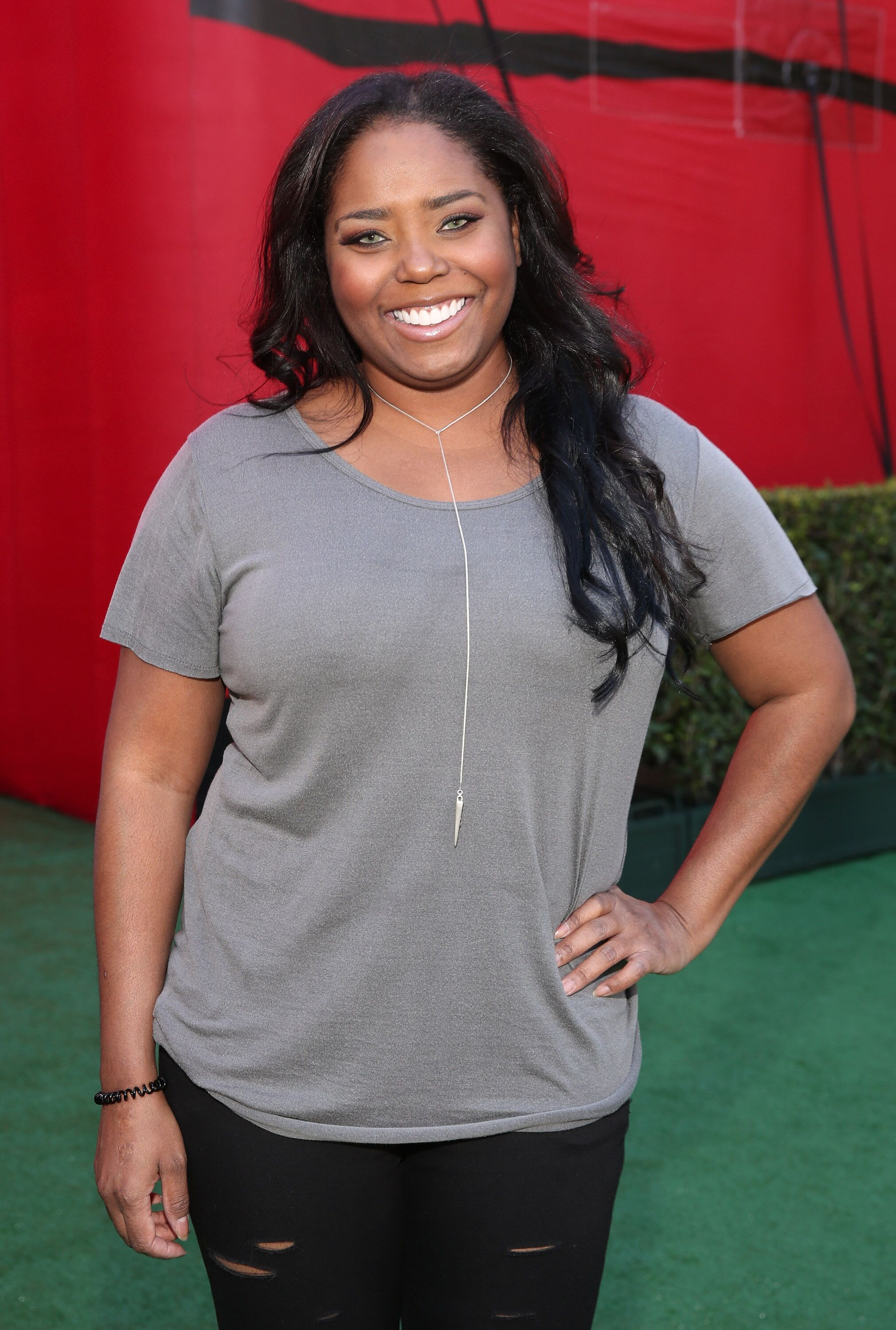 """Shar Jackson attends the premiere of 20th Century Fox's """"The Peanuts Movie"""" at Regency Village Theatre on November 1, 2015 in Westwood, California. 
